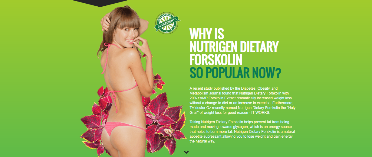 Nutrigen Dietary Forskolin Advanced