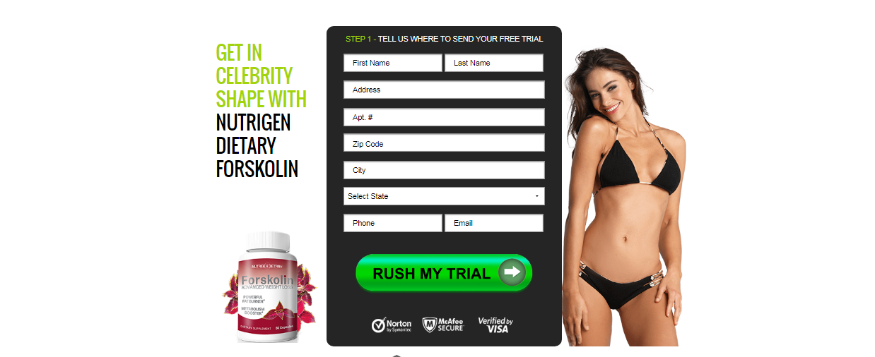 Nutrigen Dietary Forskolin